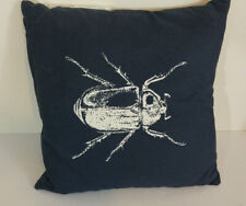 IKEA Beetle Pillow Cover and Pillow Tistelfjaril Bedroom Navy Blue