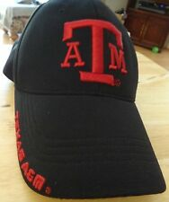 Texas A&M University ATM Aggies Baseball Hat Cap Maroon & Black Fitted size S/M
