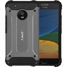 Moto G5 Plus Case, J&D [ArmorBox] Hybrid Shock Proof Protective Rugged Case