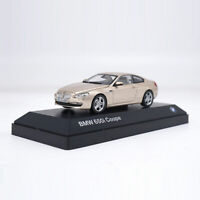 BMW 650i Coupe 1:43 Scale Model Car Alloy Diecast Collectable Gift Boys Gold