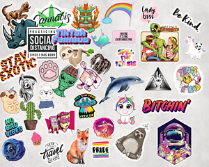 Choose Any 10 Sticker Pack Stickers Laptop Cute Stickers Funny Decals Vinyl