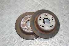 Honda Civic Type R EP3 Rear brake discs PAIR