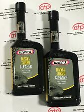 WYNNS DIESEL TURBO CLEANER 500ML X2 TWIN PACK  CARBON REMOVER  32092