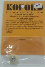 1/24 Scale Slot Car Koford 39 Tooth Polymer Gear M219-39 $3.98 PRICED PER GEAR