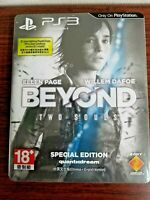 PS3 Beyond Two Souls Steelbook Special Edition video game