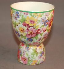 Vintage James Kent Chintz Made in England Gorgeous Floral Egg Cup!