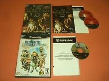 Resident Evil Zero 0 CIB Complete & Final Fantasy Crystal (no manual) GREAT GC!