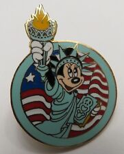 Disney Collection Minnie Statue of Liberty Pin