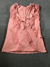 Womens Top Pink With Detail Per Una @ Marks & Spencer Size 12