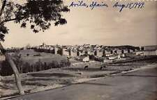 Avila Castile and Leon Spain birds eye view of area real photo pc Y12008