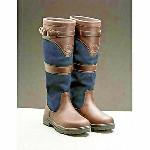 Mountain Horse  Country/Riding Boots Long/Walking Leather Horse Waterproof UK 6