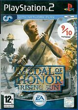 Medal of Honor Rising Sun Sony PS2 12+ First Person Shooter FPS Game