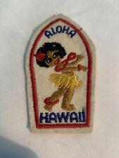 Vintage Aloha Hawaii Souvenir Patch