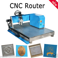 800W CNC Router RS-6090 Engraver Milling Machine Ball Screw with rotary axis