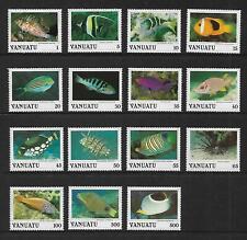 1987 Sea Life Set of 15 MUH/MNH