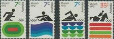Australian 1972 MNH Full Set 3x 7c + 35c - Munich Olympic Games variety issues