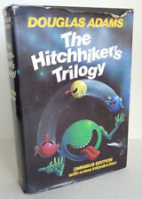 Douglas Adams The Hitchhiker's Trilogy Omnibus Edition HBDJ 1st Edition 1983