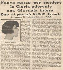 W1671 Cipria PETALIA - Pubblicità del 1926 - Old advertising