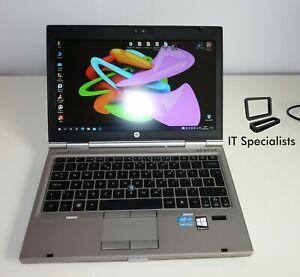HP EliteBook 2560p core i7 laptop, 8gb ram, SSD, DVDRW, Win 10 Pro, webcam