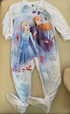 Frozen 2 Toddler Girl Fleece Footie Pajamas Size 4T
