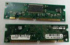 2x HP A3865-60001 8MB PC100 Printer RAM for Laserjet 2200/4000/4050 C7842AX