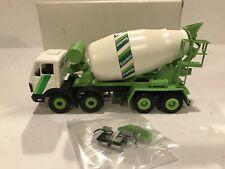 CONRAD NZG MERCEDES CEMENT MIXER TRUCK GREEN WHITE BOXED