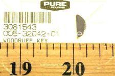 Polaris Pure Nos Oem Snowmobile Atv Woodruff Key 3081543