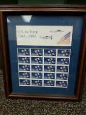 DEC09 NH Mint Sheet 3167 1997 32 cent US Air Force 50th Anniversary in Frame