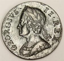 1749 Great Britain half penny