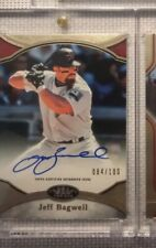 2020 Topps Tier One Jeff Bagwell  Auto /100 Houston Astros