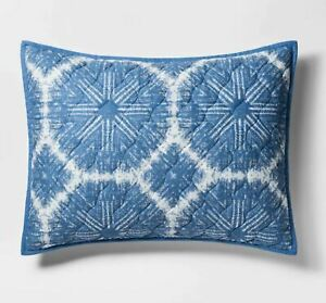 Threshold Blue Linework Medallion Sham Pillow Sham