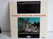 Musique populaire marocaine Recueilli par JEAN MAZEL Disques BAM LD5435