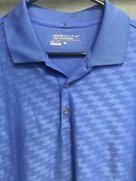 🔥✔️🔥Nike Golf Dri-Fit Short Polo Shirt Men's Size Large L Blue🔥✔️🔥
