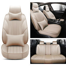 Universal Car Seat Cover Full Set Front+Rear Cushion Protector Brighten Interior