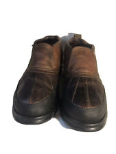 Men's Leather Polo Sport Duck Boots Size 13M