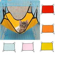 Pet Hammock Cats Puppy Dog Soft Fabric Hanging Swing Bed Toys Cage Sleeping Nest