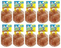 CHORE BOY COPPER SCRUBBER , PACK OF 10 .100 % COPPER..NEW!