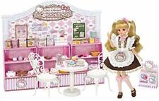 Takara Tomy Licca-chan Hello Kitty Sweets Cafe Set Sanrio New Japan Ems