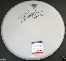 "SLASH Signed 16"" Drum Head Autograph Guns N' Roses PSA/DNA Certified Auto GNR"
