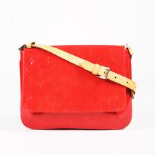 "Louis Vuitton Red ""Vernis"" Monogram Patent Leather ""Thompson Street"" Bag"