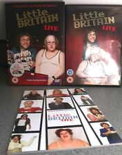 Little Britain Live DVD British Comedy Show Box Set w/ Slipcover + Programme