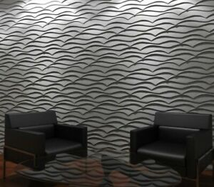 *DRAGON SCALES* 3D Decorative Wall Stone Panels Form Plastic mold for Plaster