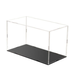 Acrylic Display Box 31*16*18cm Transparent Dust-proof Base Case for Figure Car