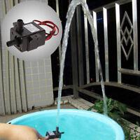 Ultra Quiet DC 12V 3m 240L/H Brushless Motor Submersible Pool Water Pump New Kj