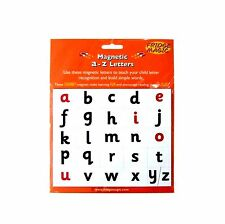 Magnetic a to z Letters Lower Case Alphabet Tiles by Fridge Magic NEW
