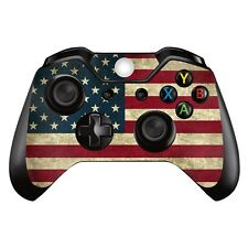 Xbox One XB1 USA Flag America (1) Controller Decal Vinyl Cover Skin Wrap Sticker