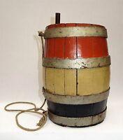 ancien tonnelet de cantinière tricolore