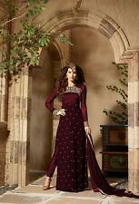 Indian Bollywood Ethnic Designer Anarkali Salwar Kameez Suit &Traditional VF0016