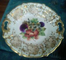 Antique KPM c1845-70 handle plate painted fruit
