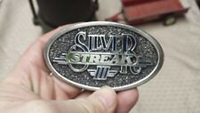 1987 Deutz Allis Silver Streak III Pewter Belt Buckle LE #175